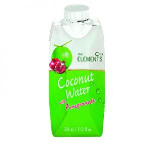 The Elements Coconut water with Pomegranate