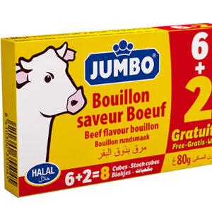 Jumbo Beef 6+2p