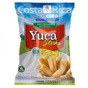 Bajo Cero Frozen Yuca sticks
