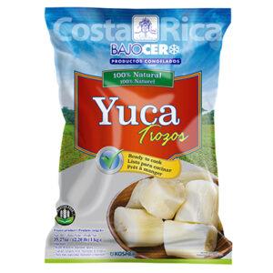 Bajo Cero Frozen Chopped cassava