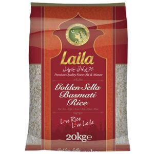 Laila Golden Sella Basmati Rice 20kgs