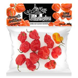 Frozen antillan peppers