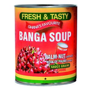 Banga Soup Fresh & Tasty 800grs